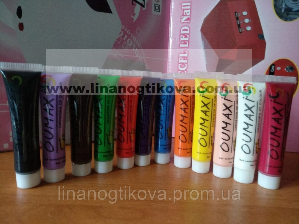Купить Набор акриловых красок для рисования , 12 шт по 12 мл