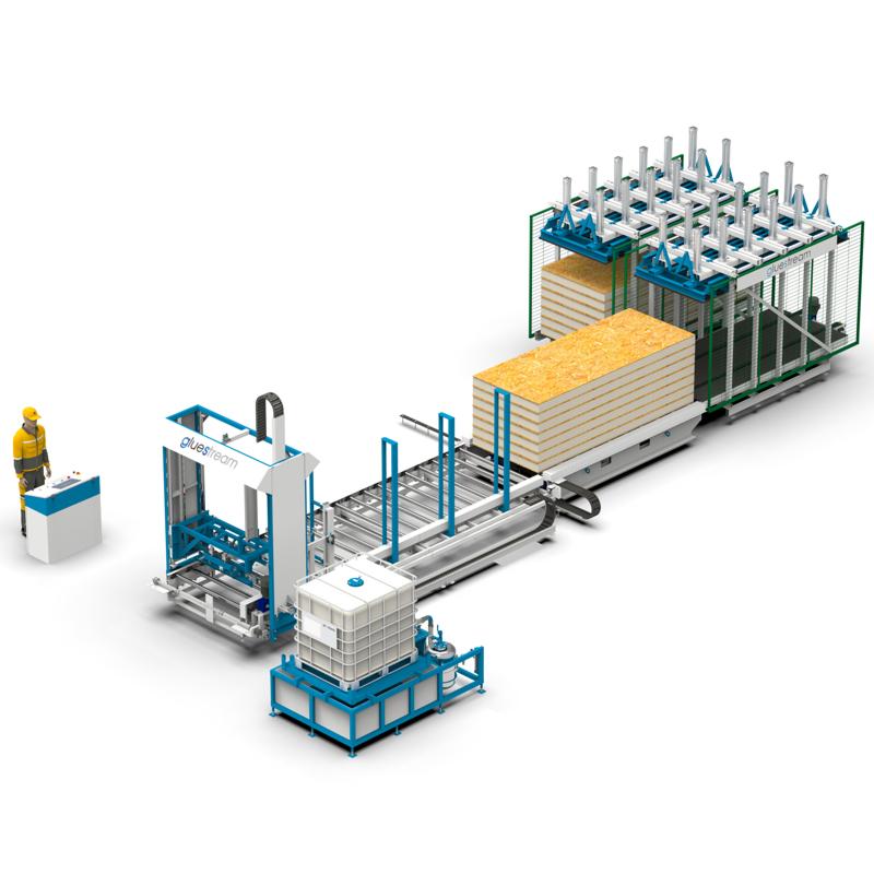 Buy Production lines of panels KAM-SS-1K-PU sandwich