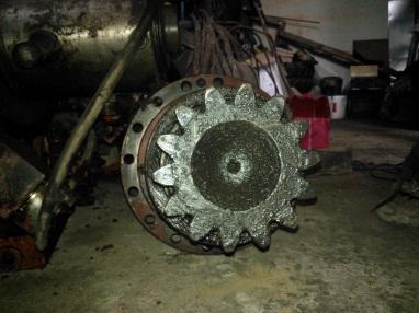 Купить Редуктор механизма поворота ATLAS 1704 вживана
