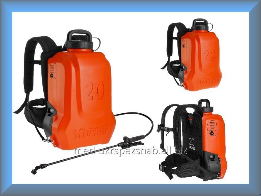 Купить Электрический опрыскиватель ранцевый, опрыскиватель садовый Stocker Ergo 228 20л (Италия)