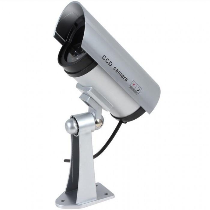 Купить Камера видеонаблюдения муляж DUMMY, Серебристый