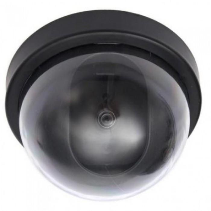 Купить Купольная камера видеонаблюдения муляж, Черный