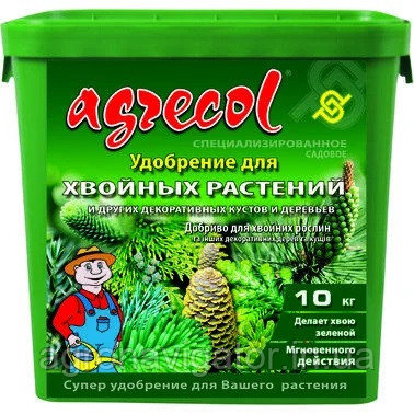 Купить Удобрение для хвои Agrecol 10 кг