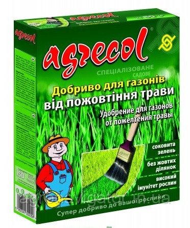 Купить Удобрение для газонов против пожелтения листьев Agrecol 1 кг