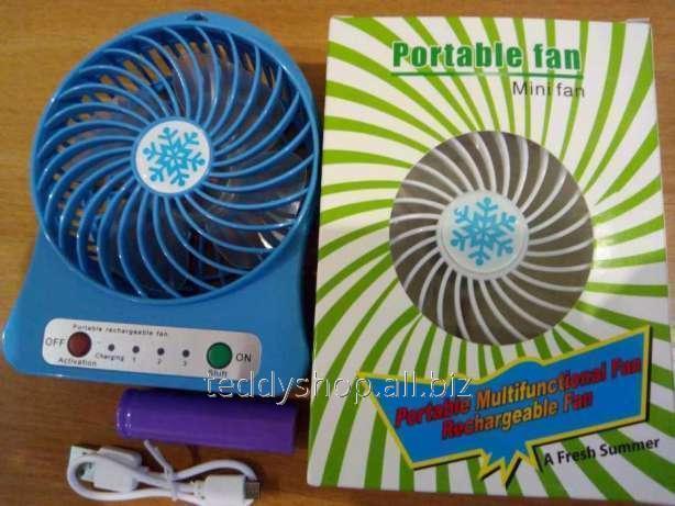 Купить Вентилятор USB на Аккумуляторе настольный mini Fan