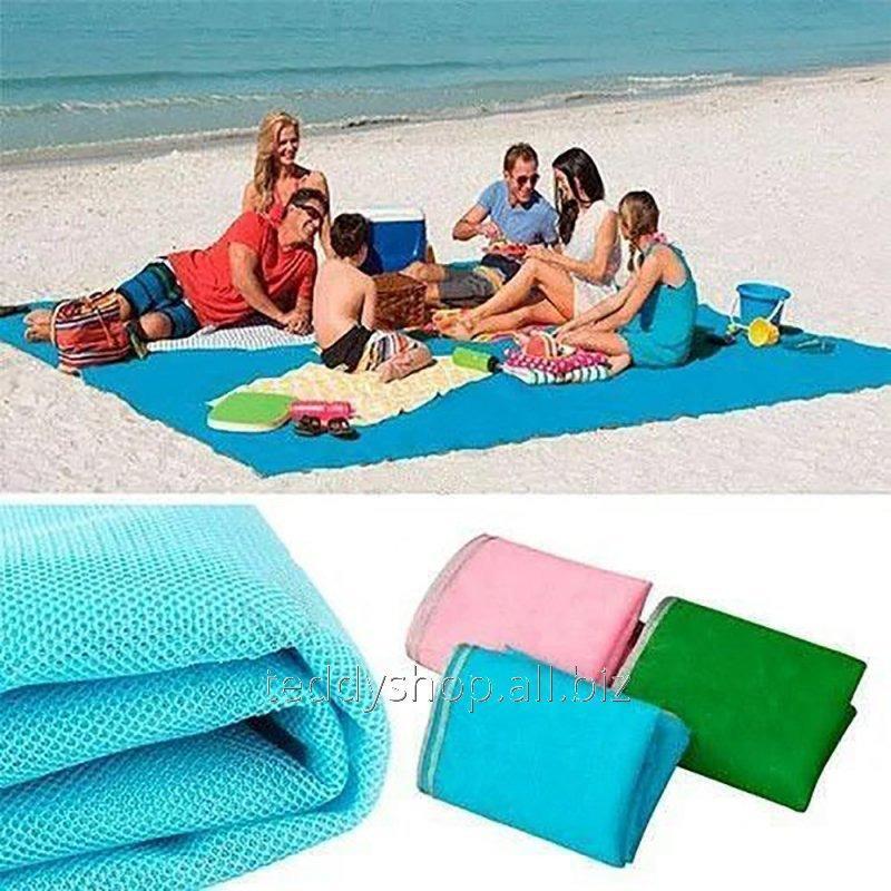 Купить Пляжный коврик подстилка антипесок Sand-free Mat 2*1,5м