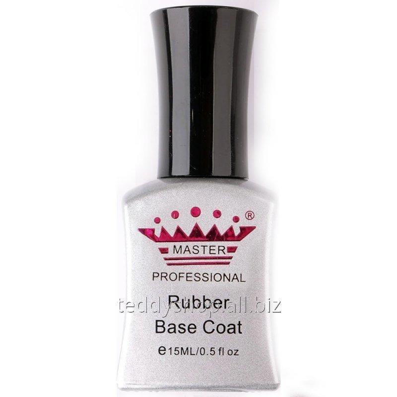 """Купить Rubber Base Coat """"Master Professional"""" (Каучуковое Базовое покрытие) 15 мл"""