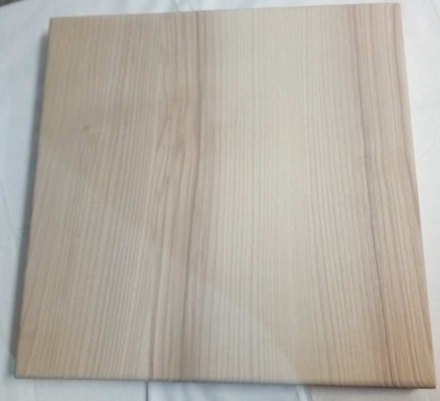 Купить Столешница 500х500х20 Белый из ясеня с покрытием ( 05BL0500YA050020 )