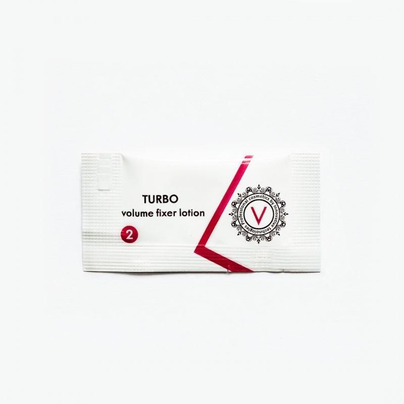 Купить Состав 2 TURBO (volume fixer lotion), саше 1 мл
