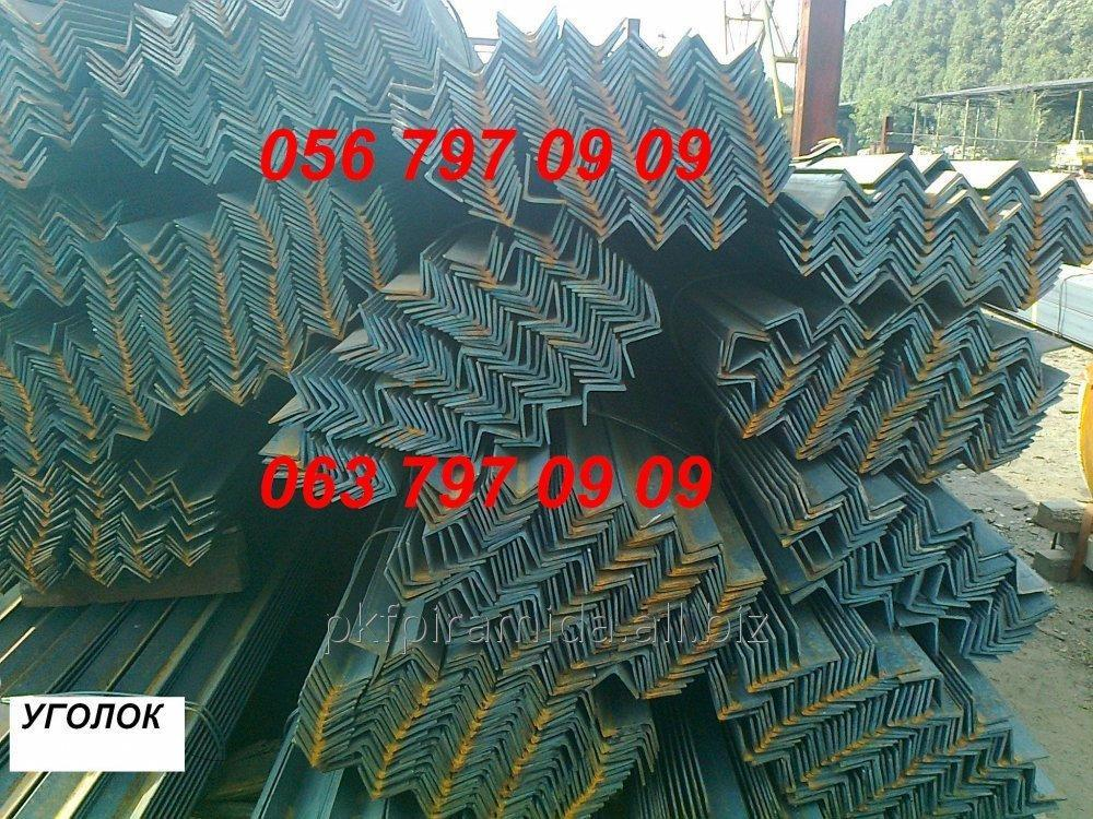 Уголок 100х7, 8, 10, 12 мм, ст. 09Г2С, мера 6м/9м/12м