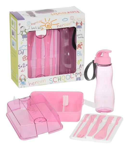 Купить Набор контейнеров детский HEREVIN MAXX PINK, 3 шт