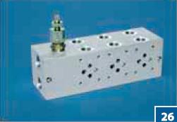 Гидравлические плиты с предохранительными клапанами