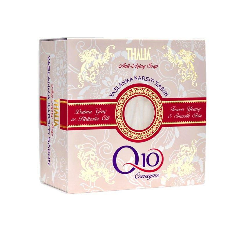 Мыло Thalia Anti Aging Натуральное омолаживающее с коэнзимом Q10, 150 г