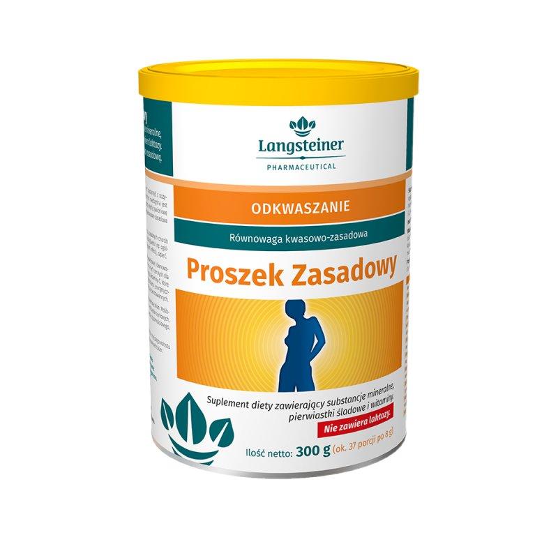 Кислотно-щелочной баланс в организме Proszek Zasadowy Langsteiner, 300 гр