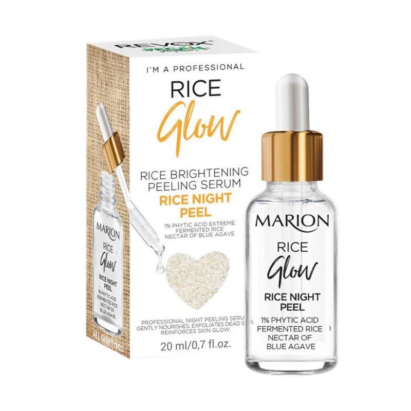 Купить Ночная осветляющая сыворотка Marion Rice Glow для лица,20 мл