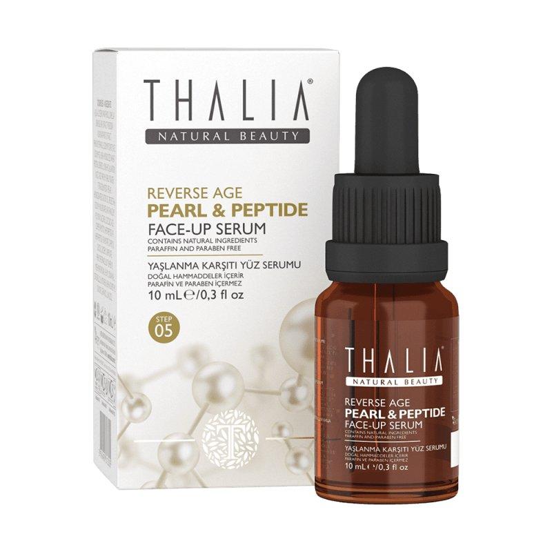 Антивозрастная Контурирующая сыворотка Thalia Reverse Age для лица с пептидами и гиалуроновой кислотой, 10 мл