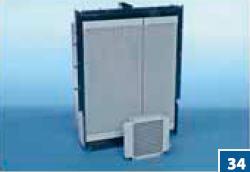 Комбинированные охладители для мобильного оборудования