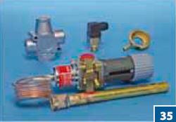 Термостаты электрические, Термостабильные клапаны Hydroma