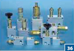 Клапаны предохранительные трубные притычные и картриджные