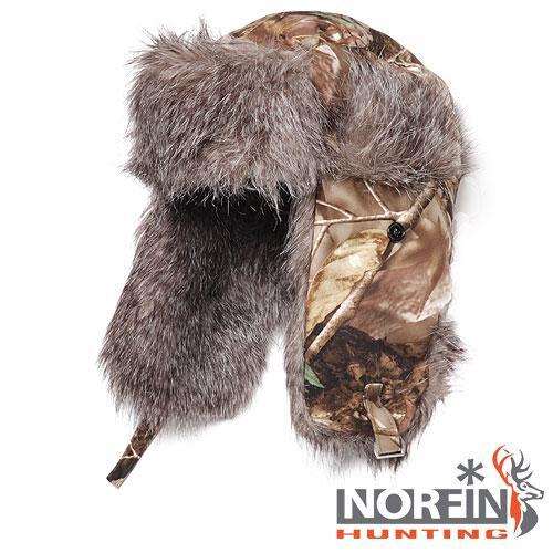 Купить Шапка-ушанка NORFIN Hunting (passion) размер L (56367)