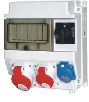 Разветвитель штепсельный, устройство распределительное ROS7, Спамел