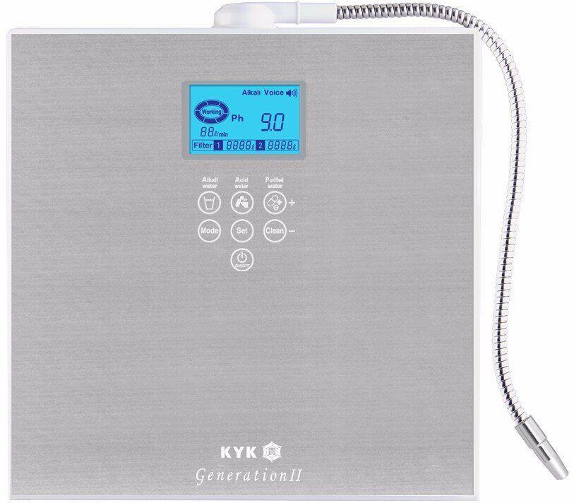 Купить Ионизатор воды Generation II c 7-ю платино-титановыми пластинами, проточный, без резервуаров для воды