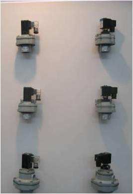 Импульсные клапана для рукавных фильтров VZWE