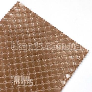 Купить Ткань Кожзам плотный karos (золотая роза)