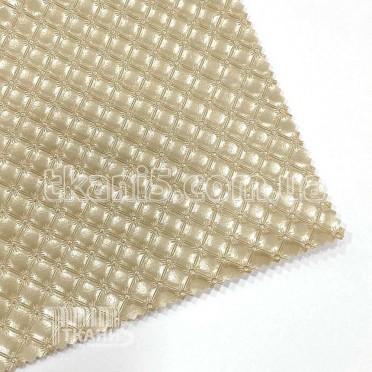 Купить Ткань Кожзам плотный karos (золото)