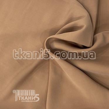 Купить Ткань Мокрый шелк - купра (светло-коричневый)