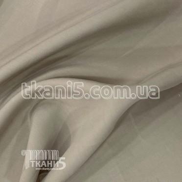 Купить Ткань Мокрый шелк - купра (холодно-бежевый)