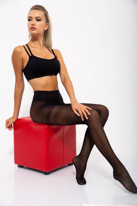 Купить Колготы женские 131R119262 цвет Черный