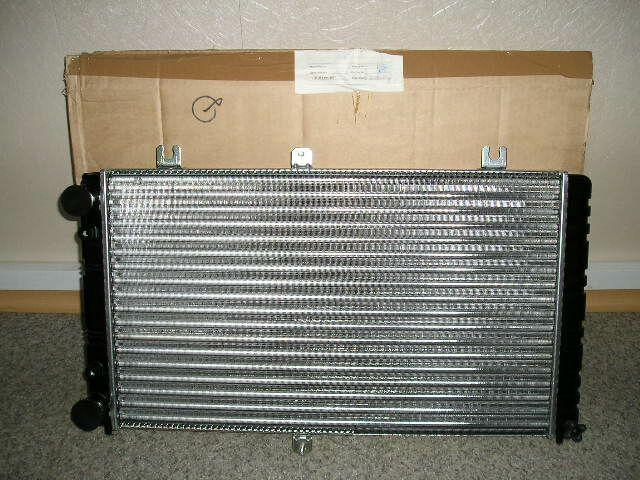 Купить Радиатор охлаждения ВАЗ 2170 алюм., ДААЗ (гарантия - до установки)