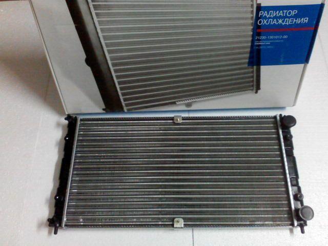 Купить Радиатор охлаждения ВАЗ 2123 алюм., ДААЗ (гарантия - до установки)