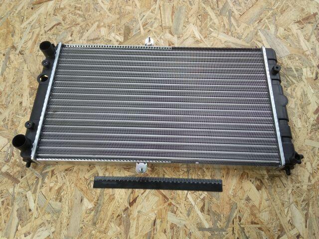 Купить Радиатор охлаждения ВАЗ 2112 алюм., ДААЗ (под датчик) (гарантия - до установки)