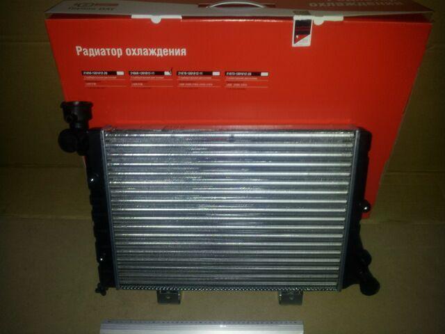Купить Радиатор охлаждения ВАЗ 2106 алюм., ДААЗ (гарантия - до установки)