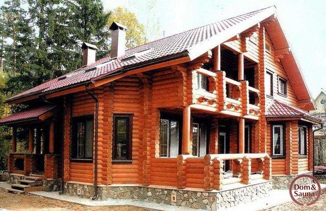 别野房子外观图片大全木头结构