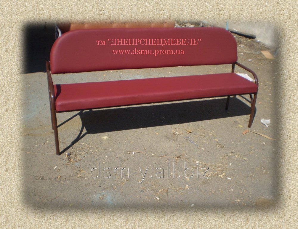 Buy Benches on a metal framework