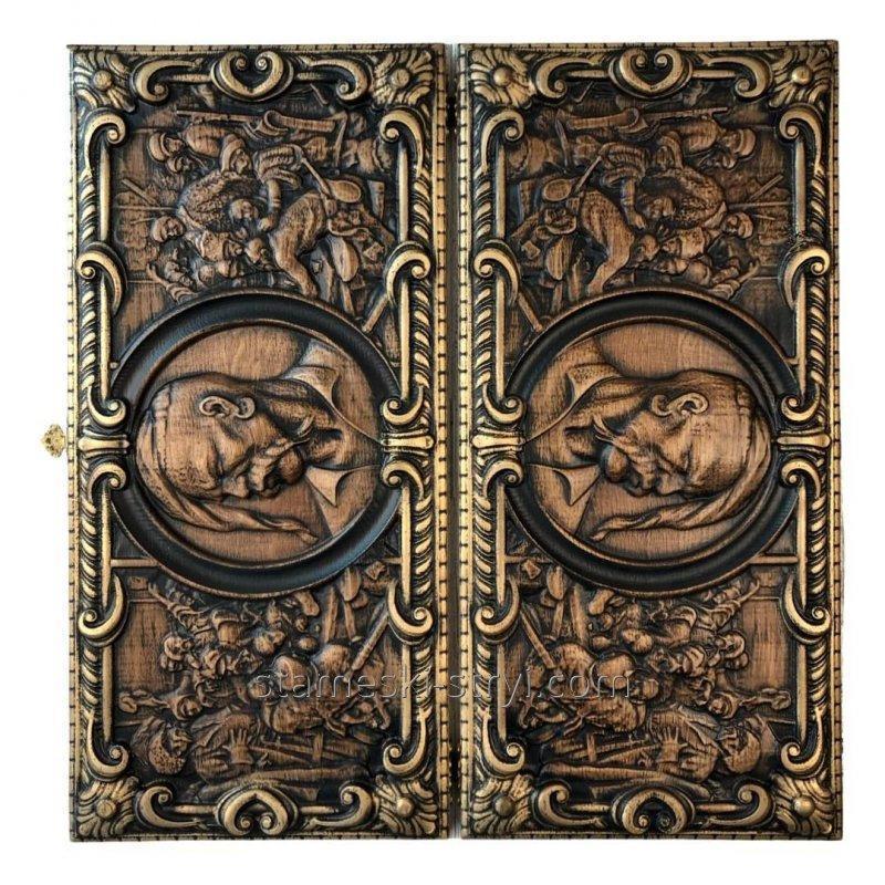 Женская резная сумка ручной работы из дерева, размер  25*18*8 см