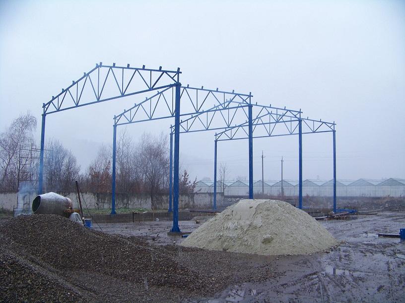 Будівництво ангара 360 м.кв.