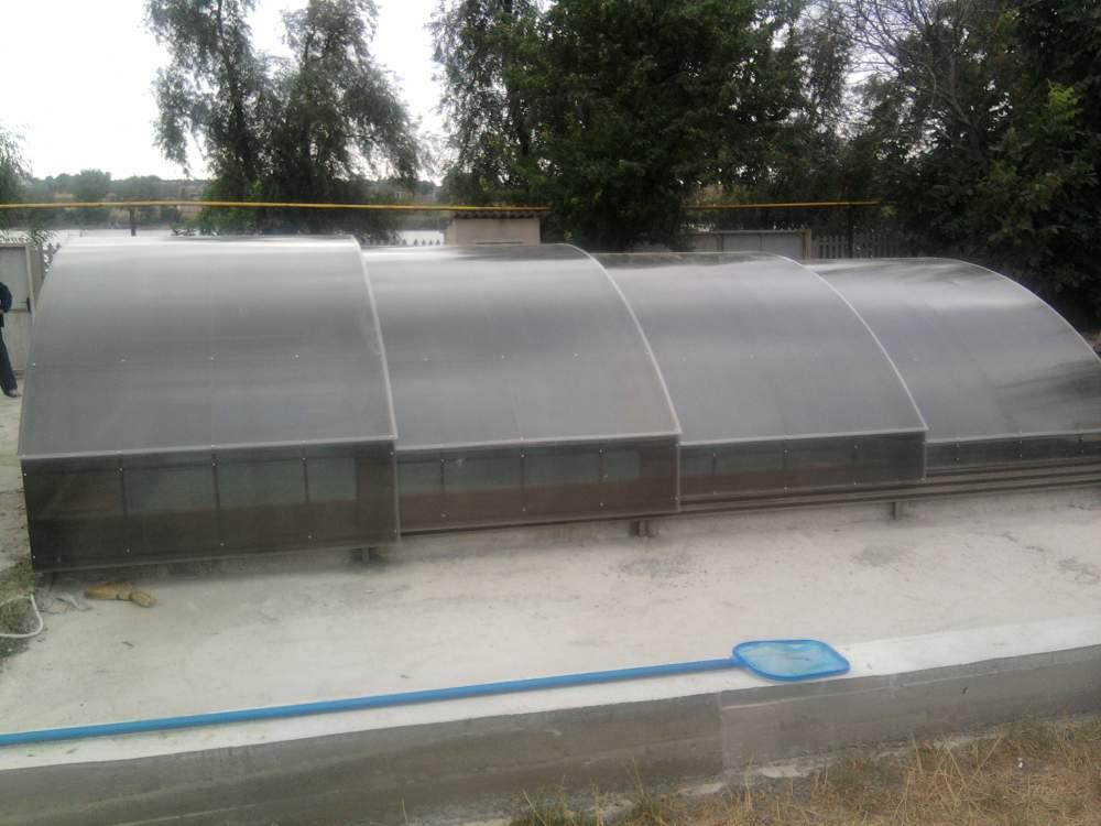Купить Раздвижные павильоны для бассейнов