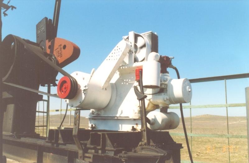 Купить Двигатель внутреннего сгорания, для привода станков-качалок нефтянных скважинных насосов, работающий на попутном газе.