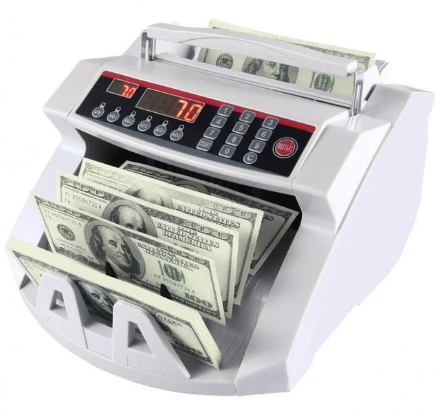 Купить Счетная машинка для купюр детектор валют Bill Connting 2108