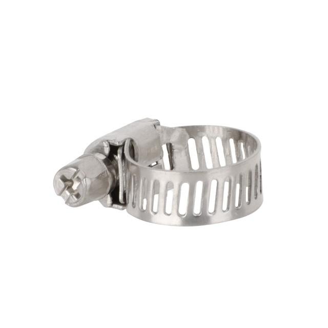 Купить Хомут нержавеющая сталь 8 мм D 6-16 мм INTERTOOL TC-1006