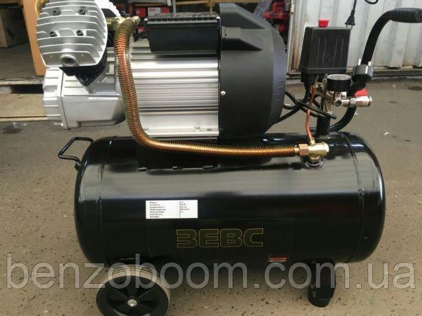 Купить Воздушный компрессор Зевс 50л 420л/мин 3кВт