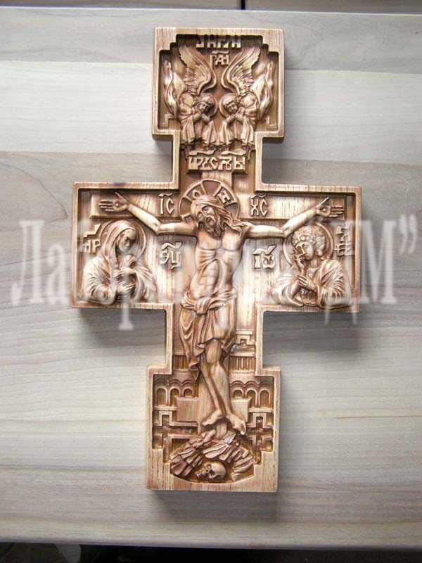 Купить Иконы храмовые резные из ценных пород древесины