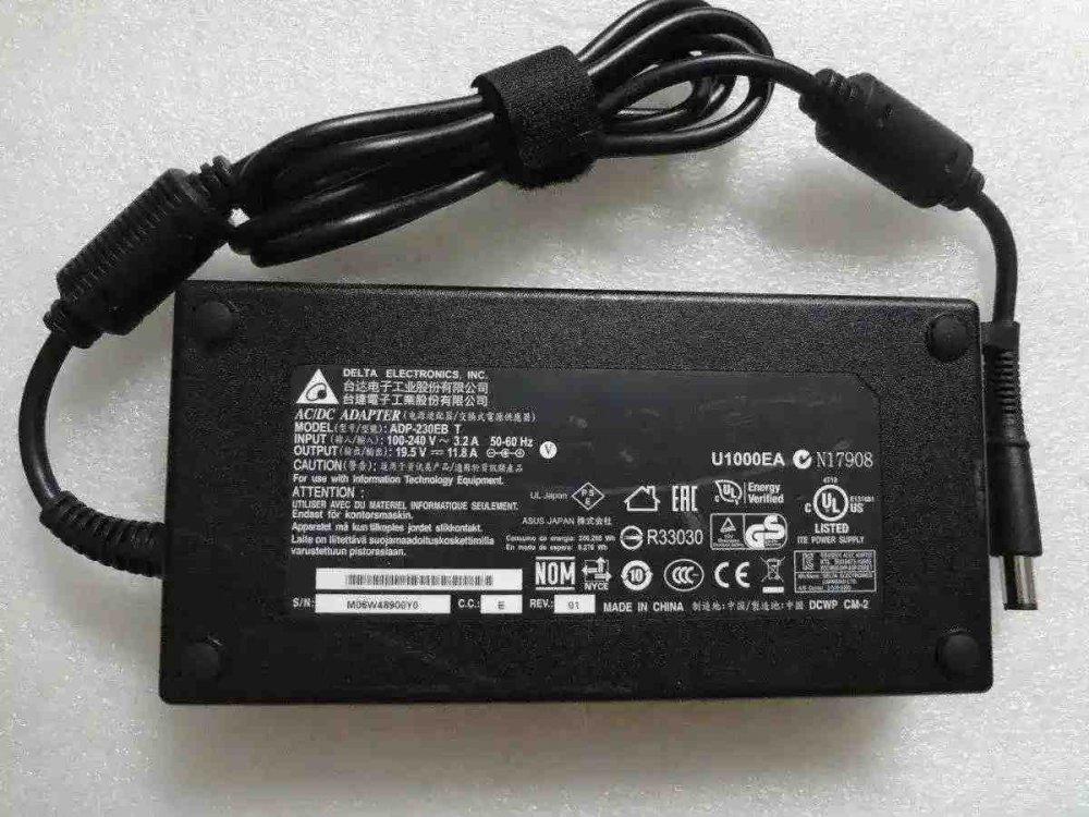 Блок питания ASUS ROG G752VS 19.5V 11.8A 230W (7.4/5.0 с иглой) Оригинал
