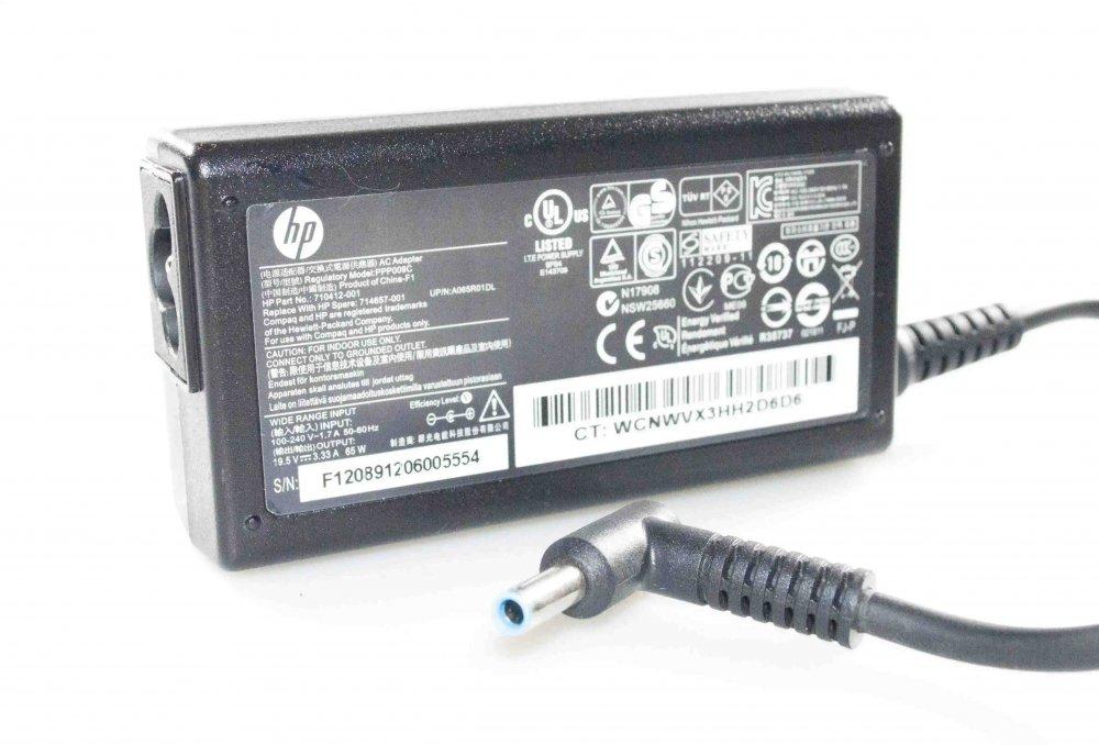 Блок питания HP EliteBook 830 G5 19.5V 3.33A 65W 4.5/3.0 с иглой Оригинал