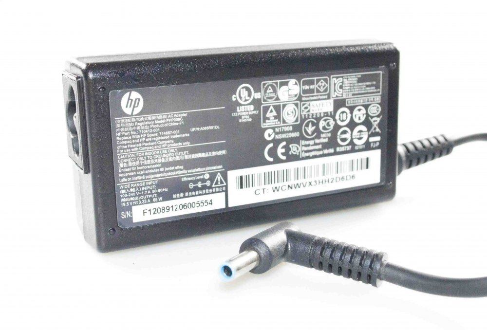 Блок питания HP Envy x360 1519.5V 3.33A 65W 4.5/3.0 с иглой Оригинал