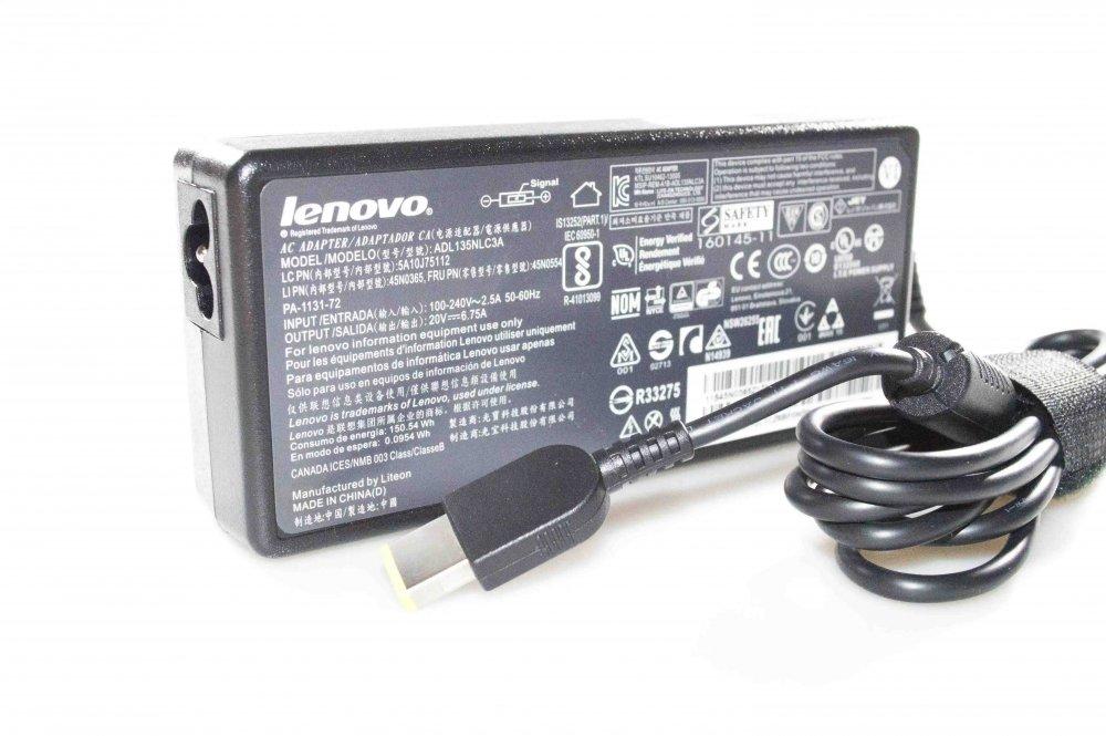 Блок питания Lenovo ADL135NDC3A 20V 6.75A 135W Yoga Оригинал